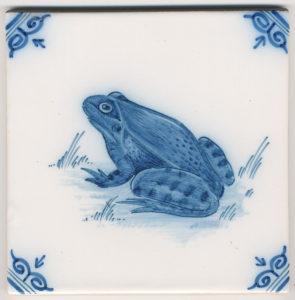Frog-Tegel_Makkum