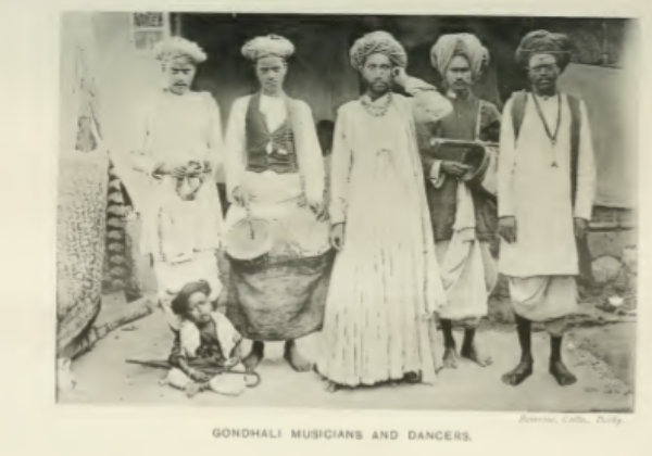 The rite of gondhali