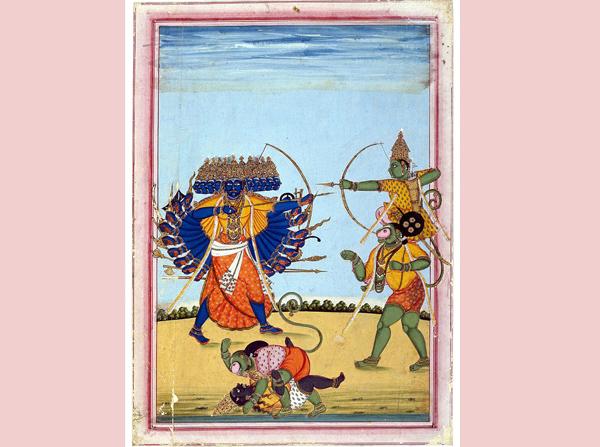 Rama and Khena
